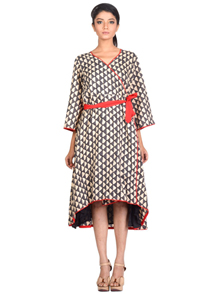 Cotton Barfi Printed Dress