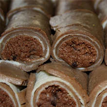 Chocolate Malai Roll