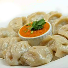Steamed Chicken Cheese Momo - MING